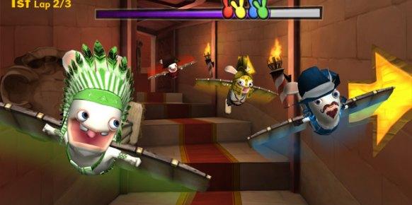 Raving Rabbids Regreso al Pasado Wii