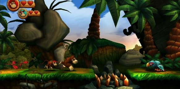 Donkey Kong Country Returns: Donkey Kong Country Returns: Impresiones E3 2010