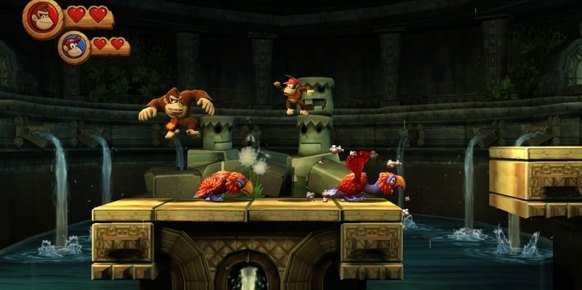 Donkey Kong Country Returns: Donkey Kong Country Returns: Impresiones jugables