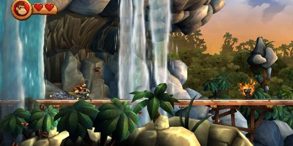 Donkey Kong Country Returns Wii
