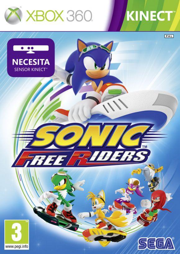 Sonic Free Riders Para Xbox 360 3djuegos