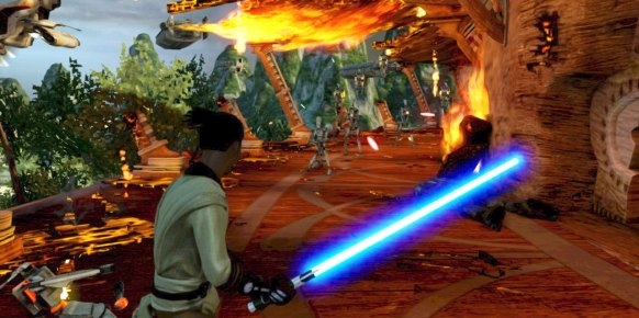 Star Wars Kinect análisis