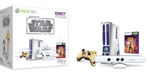Edición limitada de Xbox 360 - Star Wars Kinect