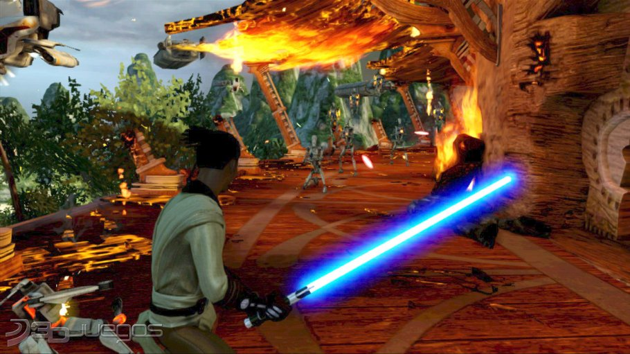 Analisis De Star Wars Kinect Para Xbox 360 3djuegos