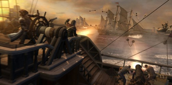 Assassin's Creed 3: Assassin's Creed 3: Impresiones Batallas Navales