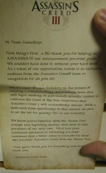 Assassin's Creed 3 podría contar con Pase de Temporada al ofrecer abundantes DLCs