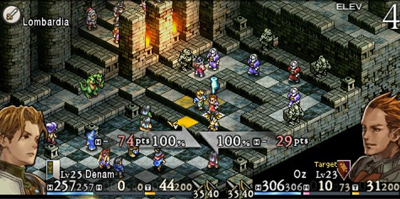 Tactics Ogre Let Us Cling Together PSP