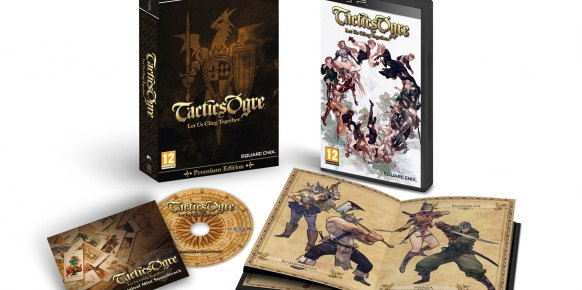 Tactics Ogre Let Us Cling Together PSP