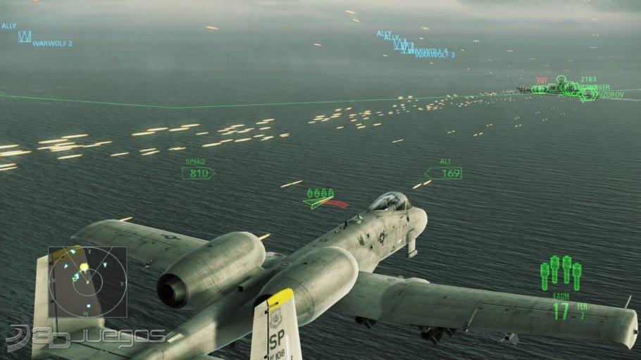 Análisis de Ace Combat Assault Horizon para PC - 3DJuegos