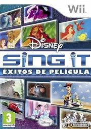 Carátula de Disney Sing It! Éxitos de película - Wii