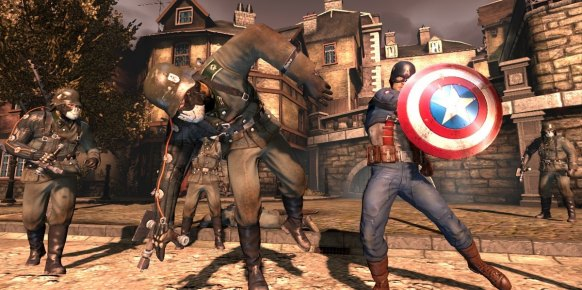 Capitán América Super Soldier PS3