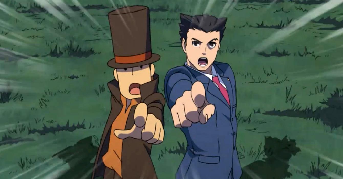 Profesor Layton vs Phoenix Wright