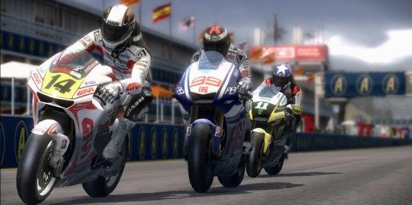 MotoGP 10/11: MotoGP 10/11: Primer contacto