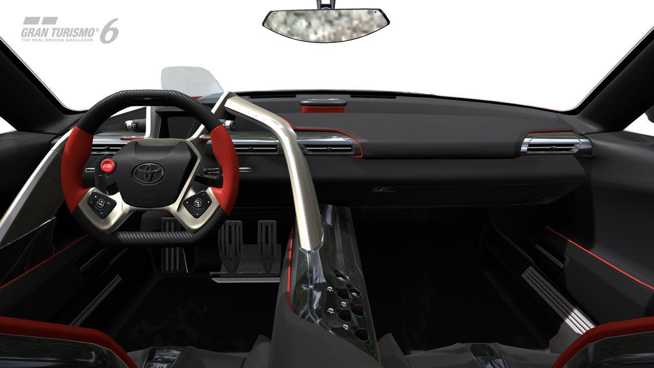 El recientemente presentado FT 1 Concept Coupe disponible mañana en Gran Turismo 6