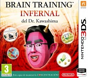 Carátula de Brain Training Infernal - 3DS