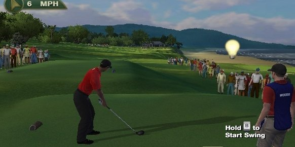Tiger Woods PGA Tour 12 Wii