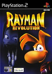 Carátula de Rayman Revolution - PS2
