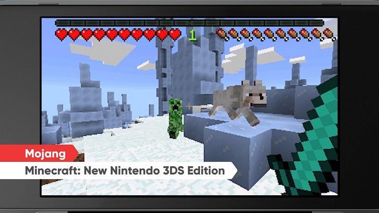 Minecraft Llega A Nintendo 3ds Se Estrena En Septiembre 3djuegos