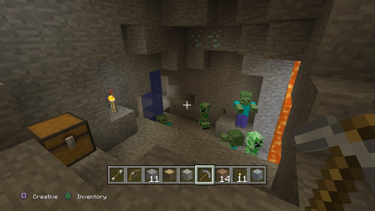 Anlisis de Minecraft para PS3  3DJuegos