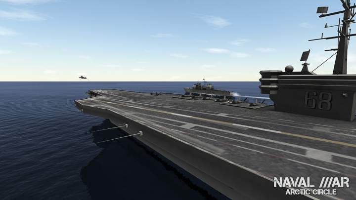 Naval War Arctic Circle - Pantalla
