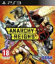 Carátula de Anarchy Reigns - PS3