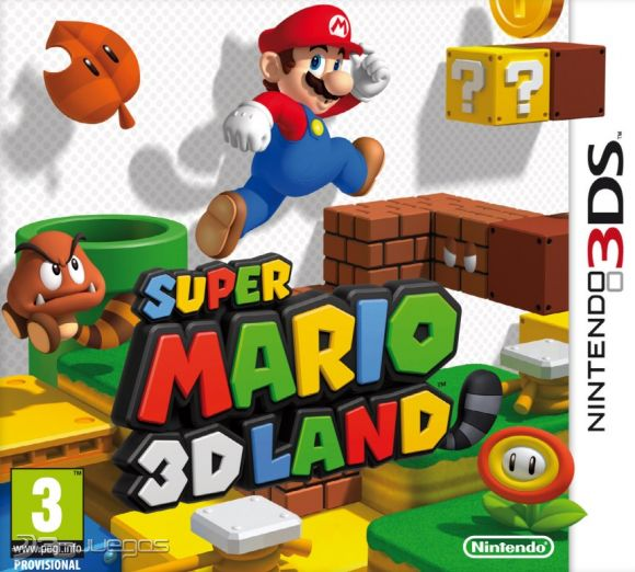 Super Mario 3d Land Para 3ds 3djuegos