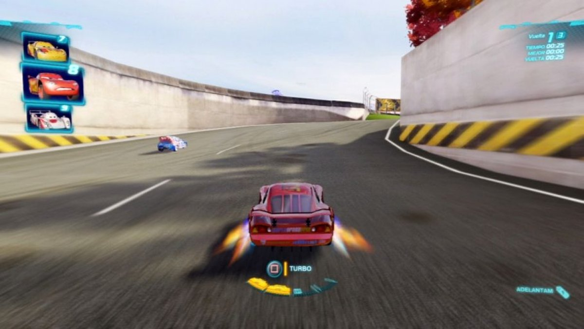 cars 2 gameplay segundo puesto ps3 pc x360. Black Bedroom Furniture Sets. Home Design Ideas