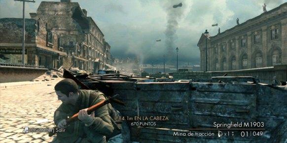 Sniper Elite V2 análisis