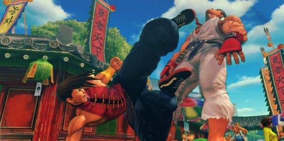 Super Street Fighter IV Arcade: Super Street Fighter IV Arcade: Impresiones Captivate 2011