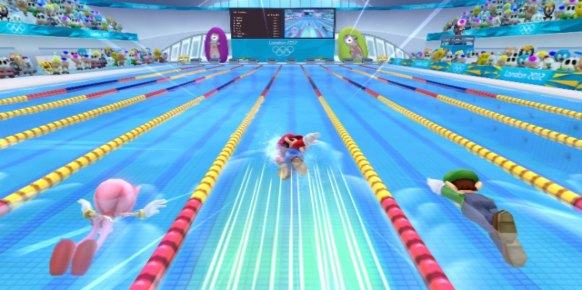 Mario y Sonic JJOO - London 2012 (Nintendo Wii)