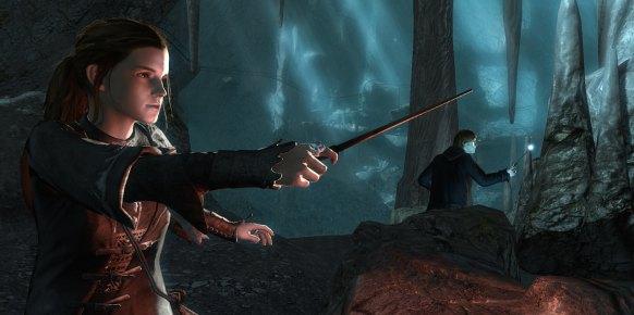 H. Potter Reliquias de la muerte 2 PS3