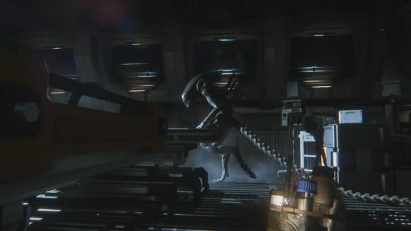 Alien Isolation: Alien Isolation: Supervivencia y angustia espacial. Fiel a la peli