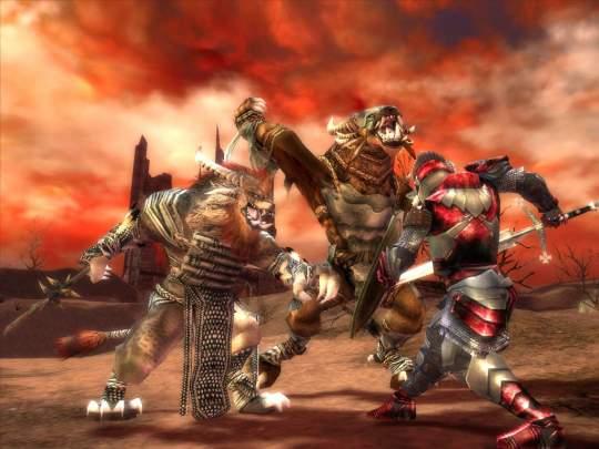 Guild Wars Trilogy - Pantalla