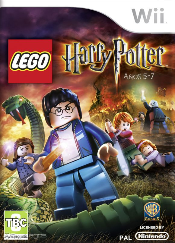 Harry Lego 5 7 Anos Lego Harry Potter Anos 5 7