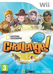 Carátula de National Geographic Challenge! - Wii