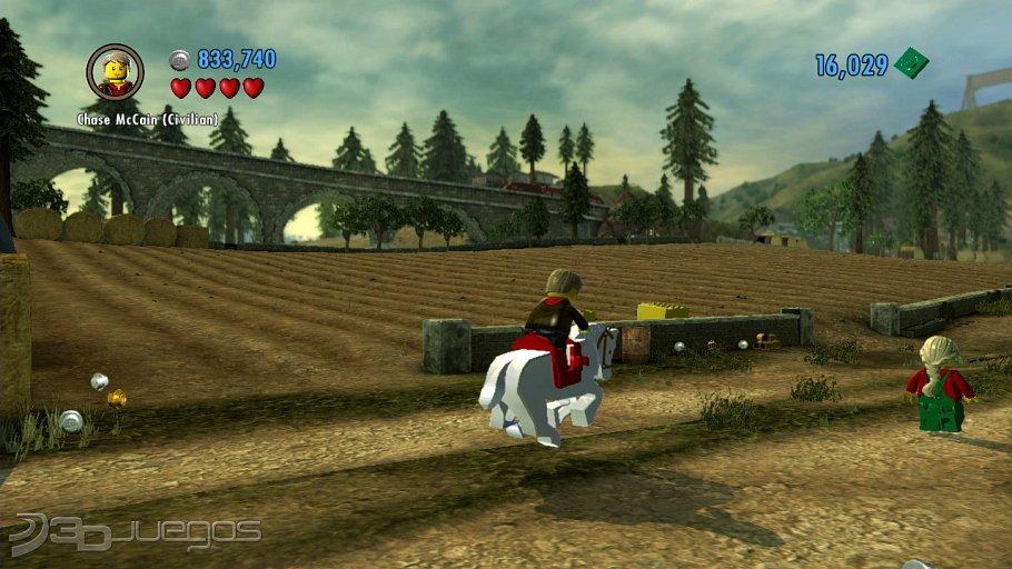 Analisis De Lego City Undercover Para Wii U 3djuegos