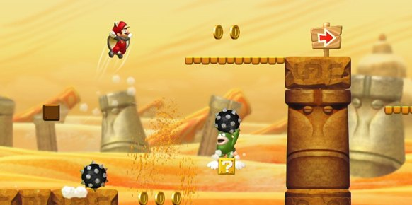 New Super Mario Bros U an�lisis