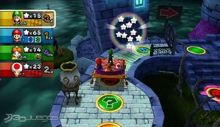 Analisis De Mario Party 9 Para Wii 3djuegos