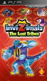 Carátula de Invizimals: Las Tribus Perdidas - PSP