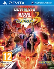 Carátula de Ultimate Marvel vs. Capcom 3 - Vita