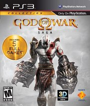 Carátula de God of War: Saga - PS3