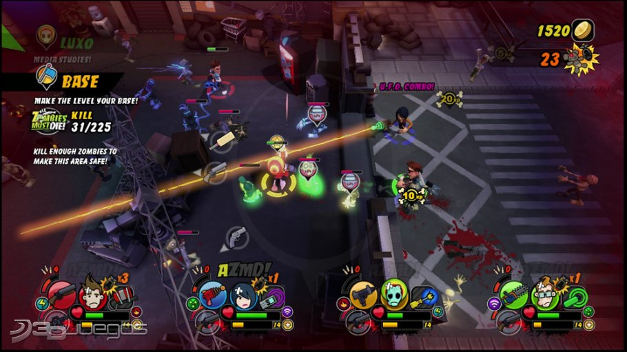 Analisis De All Zombies Must Die Para Pc 3djuegos