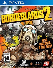 Carátula de Borderlands 2 - Vita