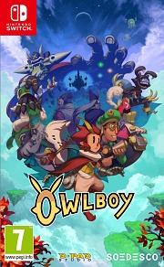Carátula de Owlboy - Nintendo Switch