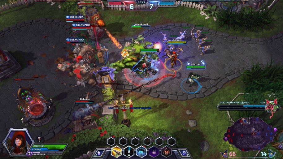 Heroes of the Storm análisis