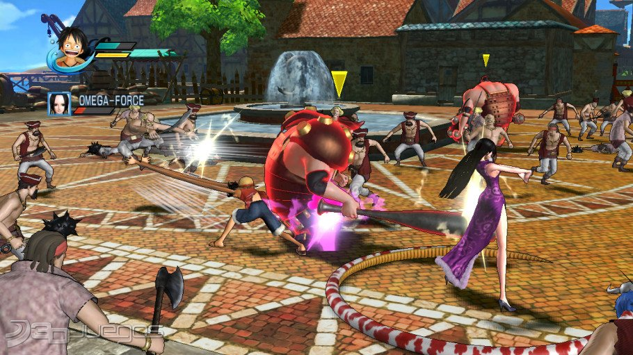 One piece pirate warriors para ps3 3djuegos for One piece juego