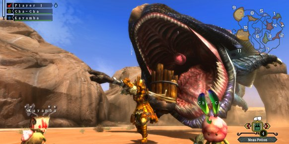 Monster Hunter 3 Ultimate an�lisis