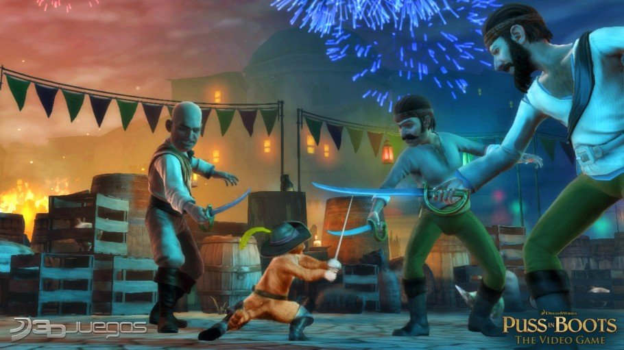 Imgenes de El Gato con Botas para PS3  3DJuegos