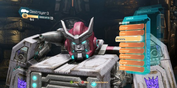 Transformers La Caída de Cybertron PS3
