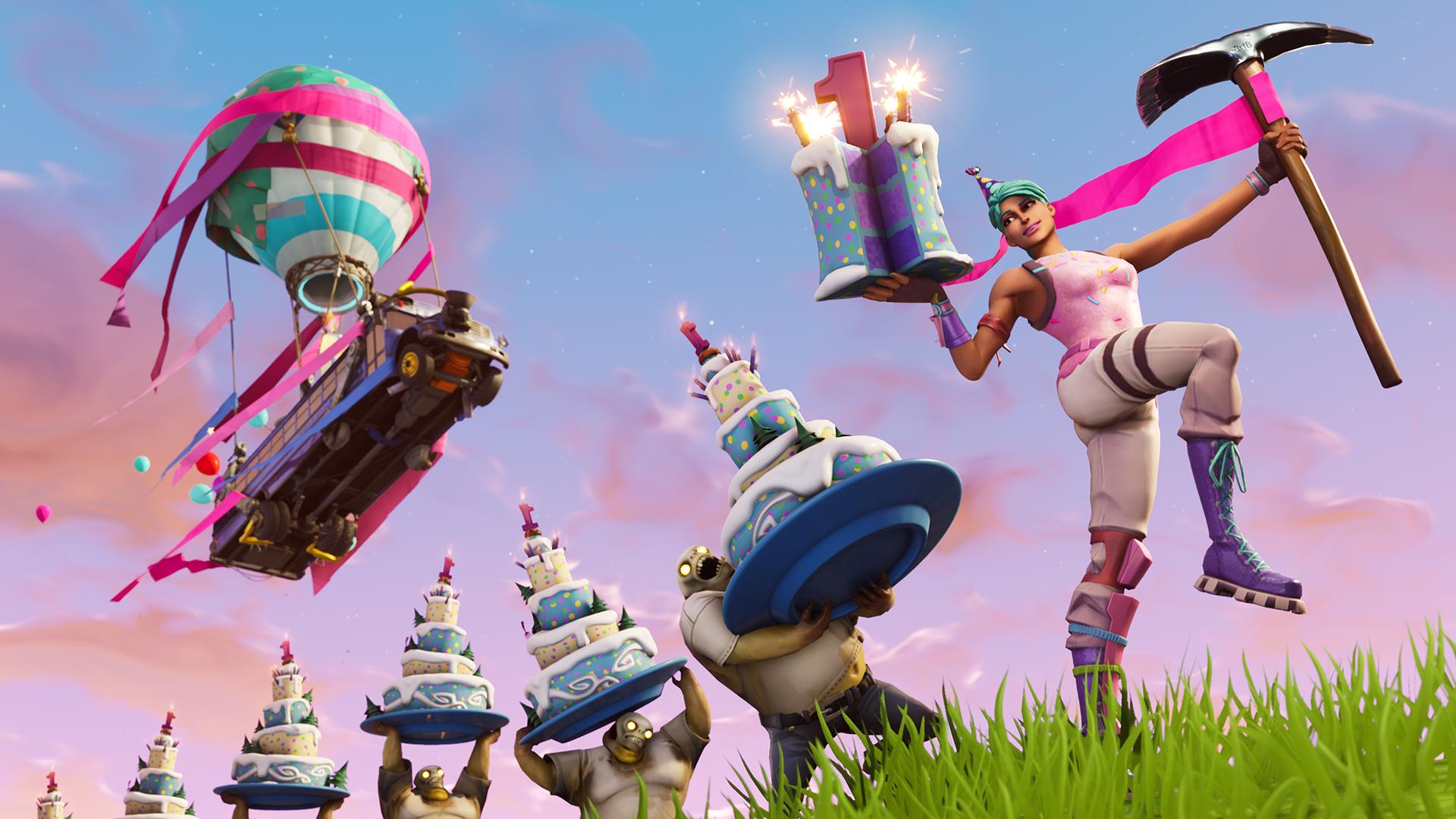 Epic Games celebrará el primer cumpleaños de Fortnite
